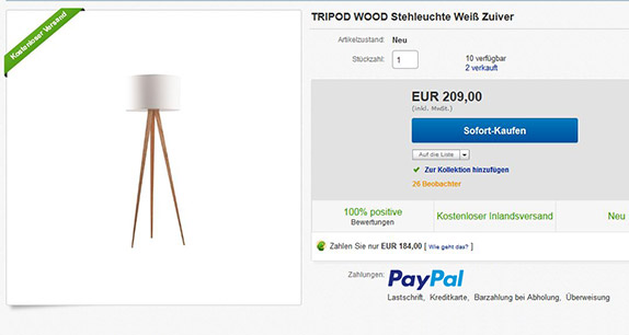 paypal gutscheine bei ebay einl sen und sparen. Black Bedroom Furniture Sets. Home Design Ideas