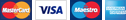 Visa/MasterCard, American Express