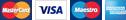 Visa/Mastercard, Amex
